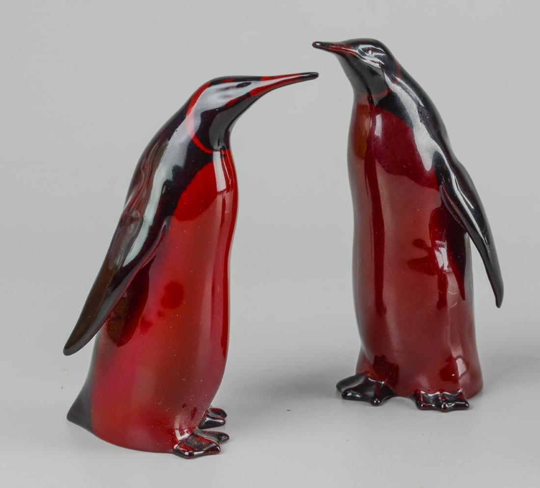 (6) Royal Doulton flambe pottery animals - 2
