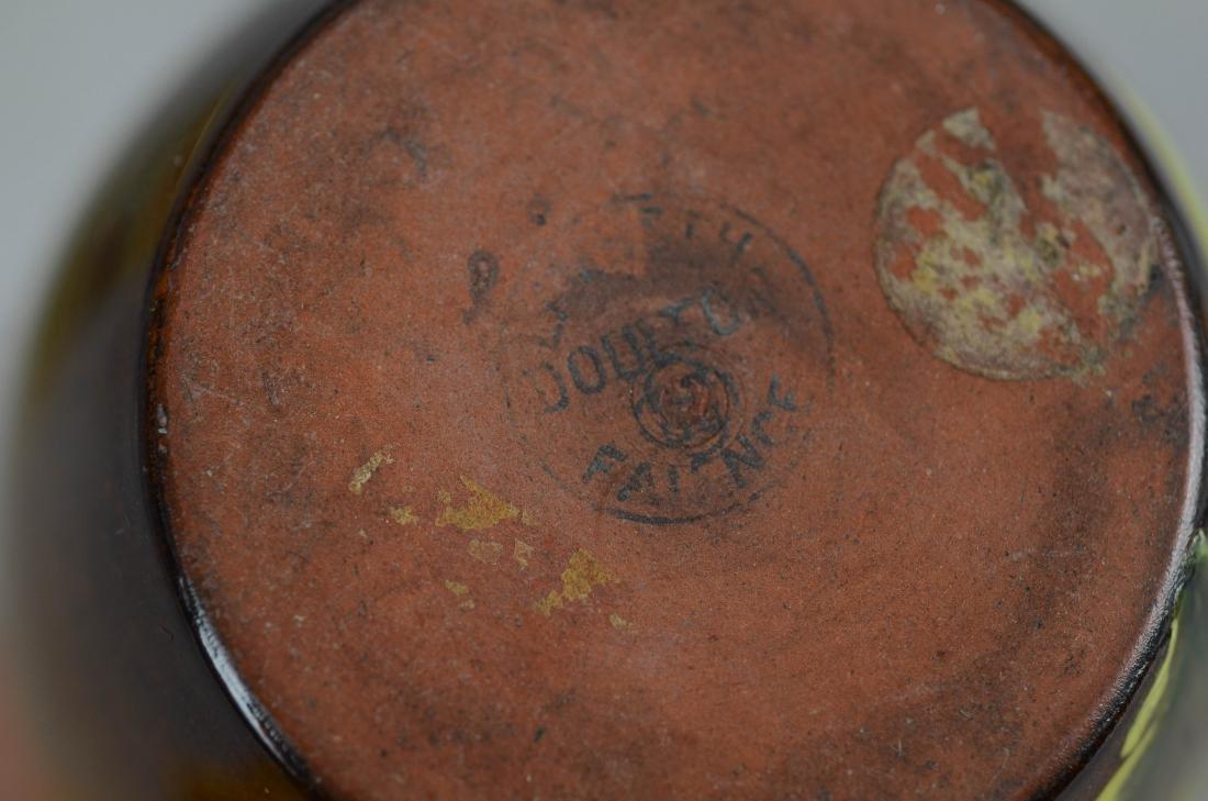 (5) Pcs Royal Doulton & Doulton Lambeth stoneware - 3