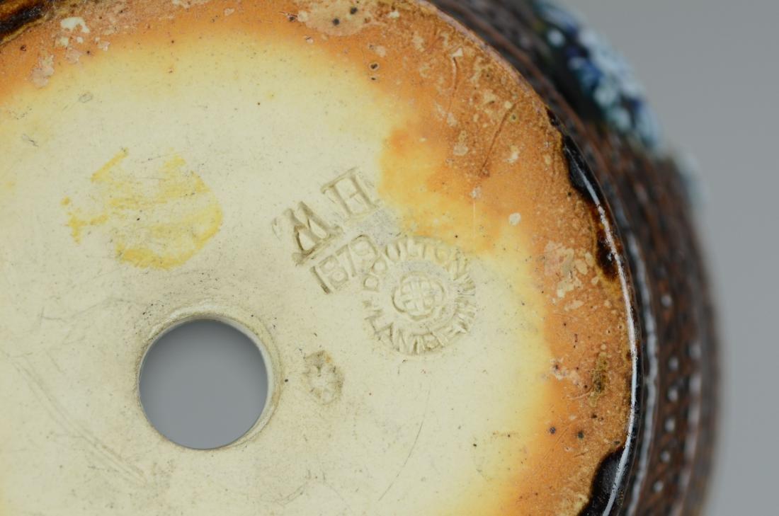 (3) Doulton Lambeth stoneware pitchers - 2