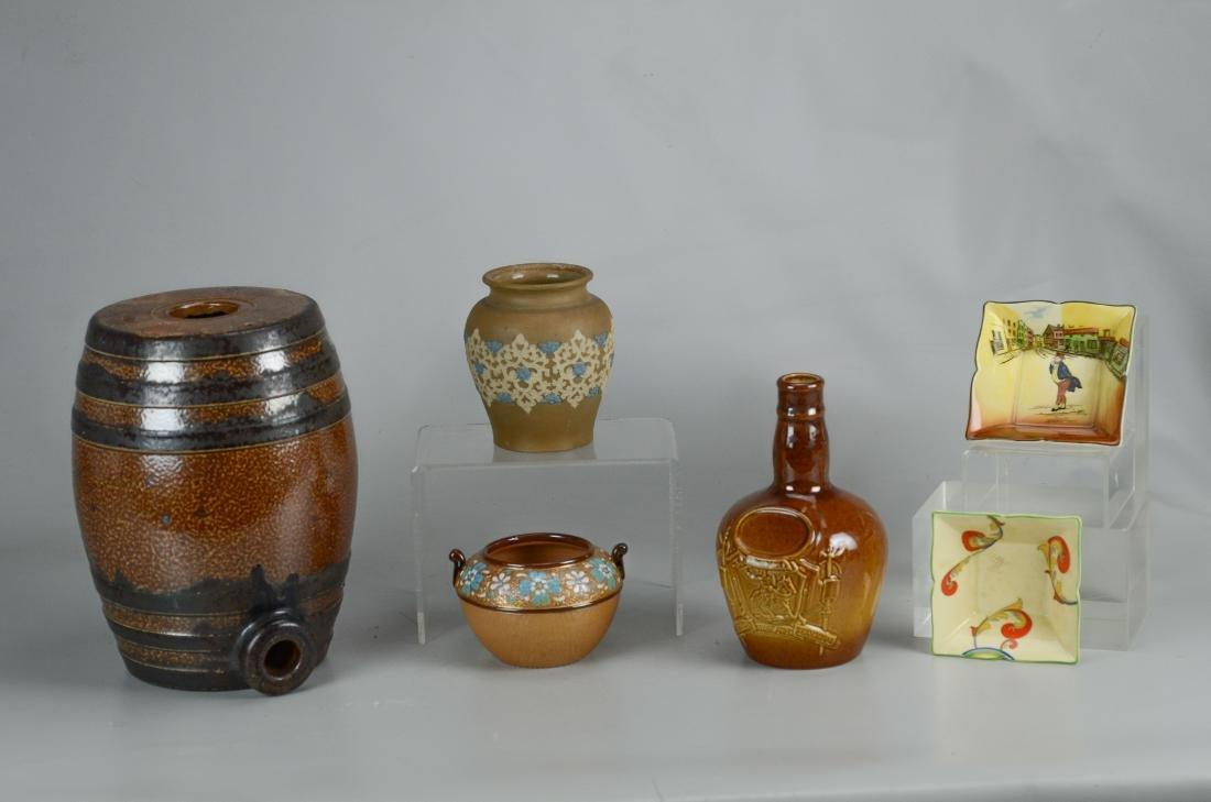 (6) Pcs Doulton stoneware