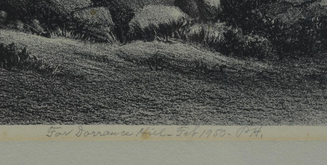 Percy Hagerman, lithograph of Western landscape - 4