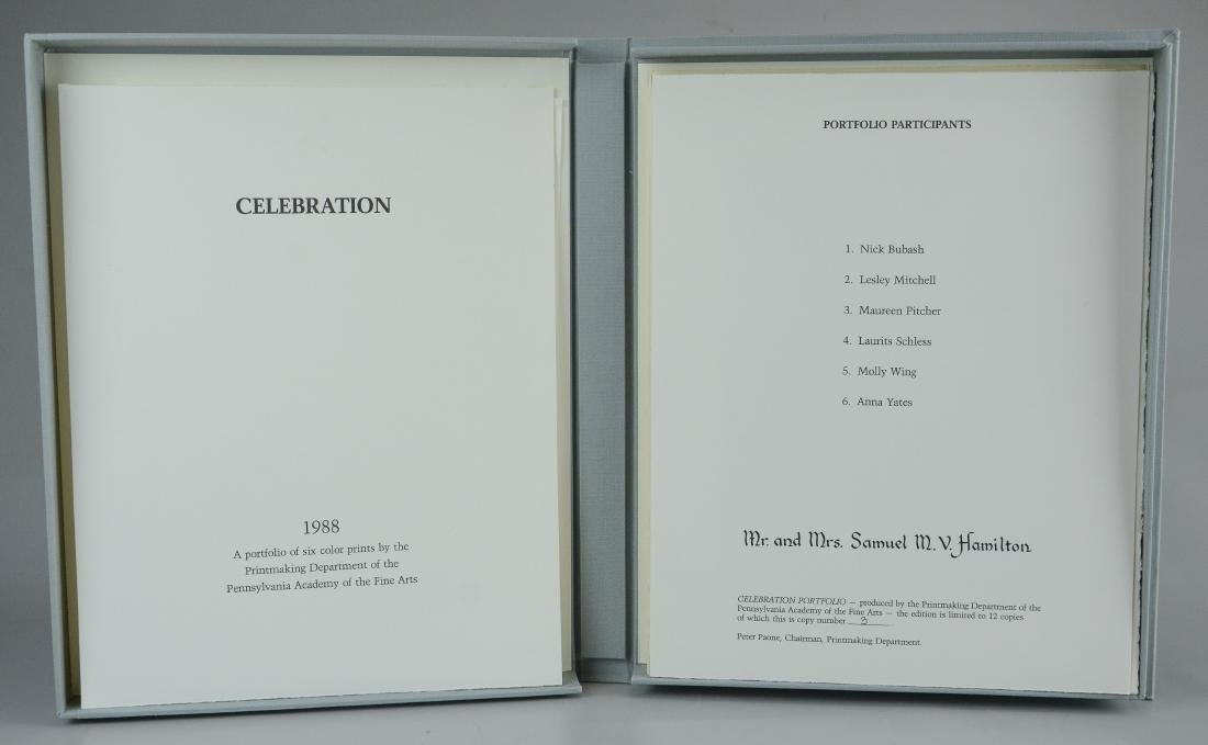 "Collection of 20 PAFA prints, including ""Celebration"" - 2"