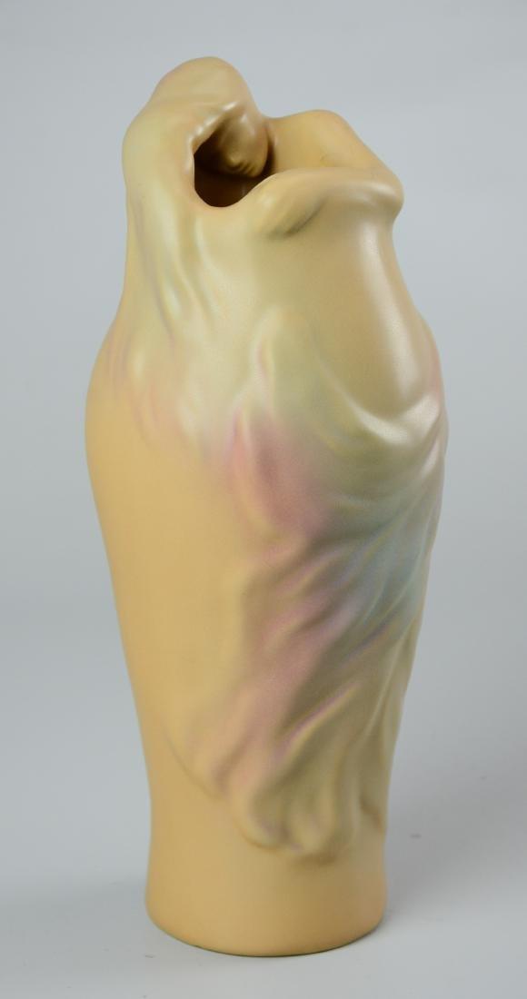 """(2) Van Briggle vases, one """"Lorelei"""" - 5"""