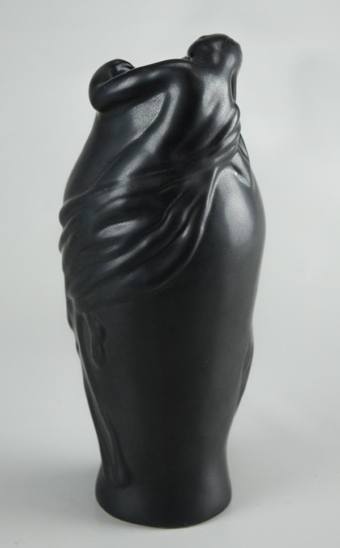 """(2) Van Briggle """"Lorelei"""" vases - 3"""