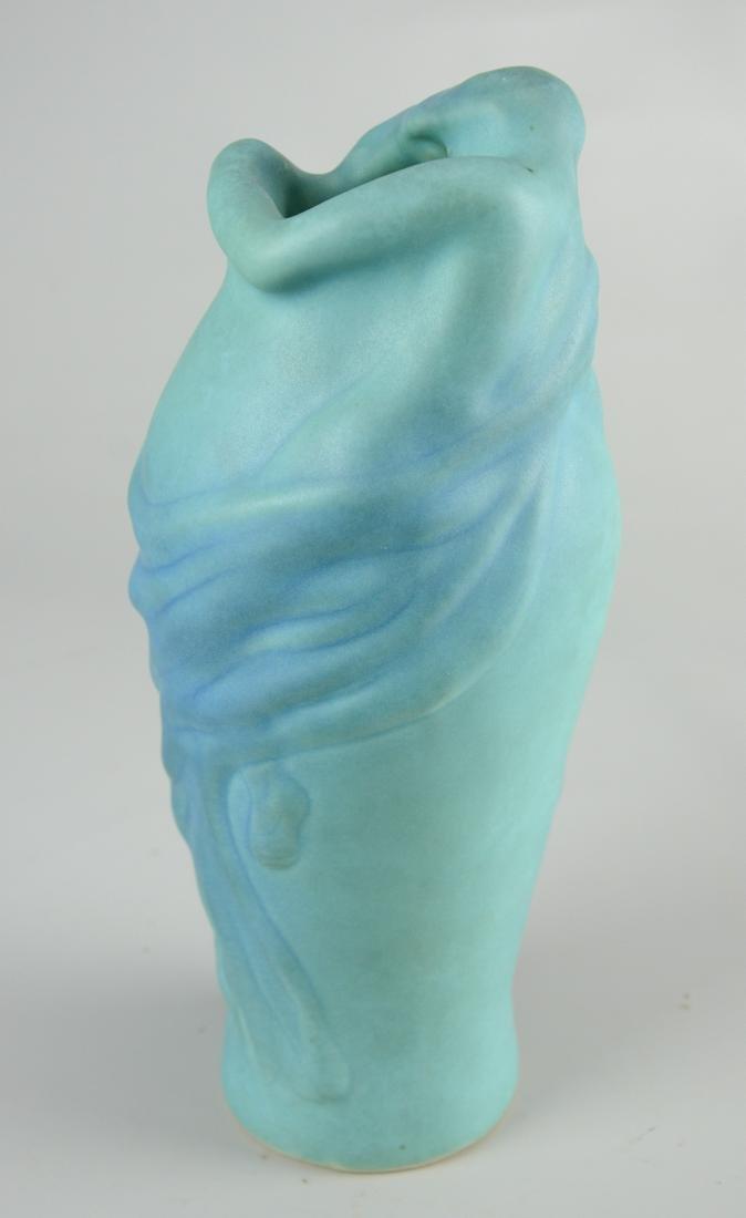 """(2) Van Briggle """"Lorelei"""" vases - 5"""