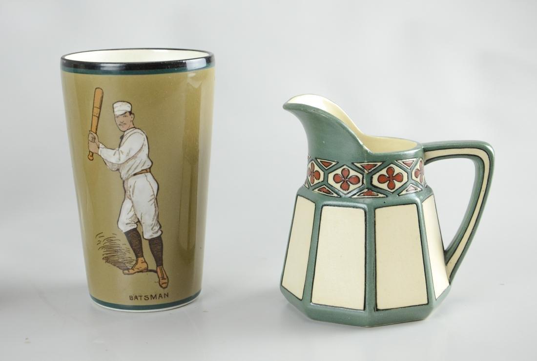 (4) Pcs Mettlach porcelain - 2