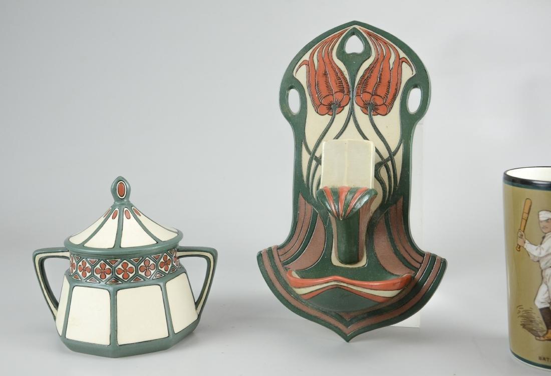 (4) Pcs Mettlach porcelain - 3