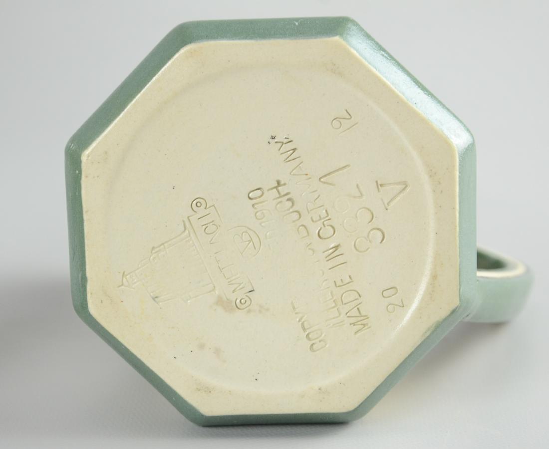 (4) Pcs Mettlach porcelain - 5
