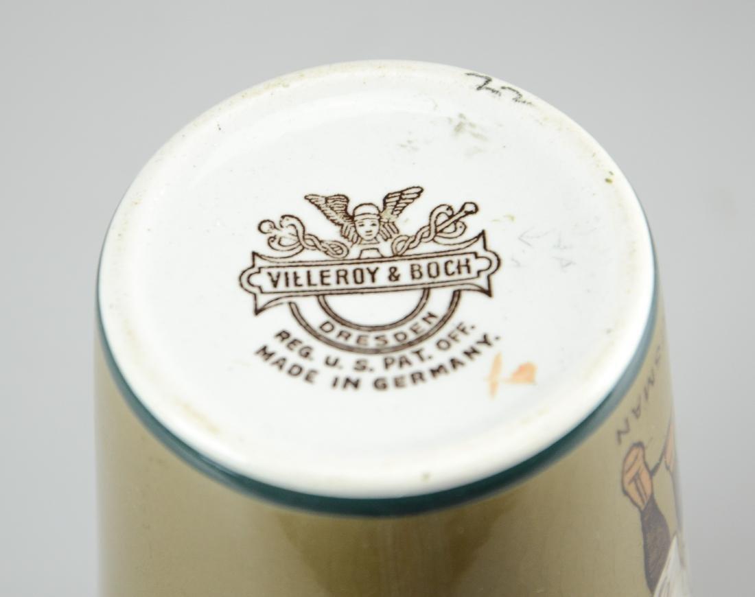 (4) Pcs Mettlach porcelain - 6