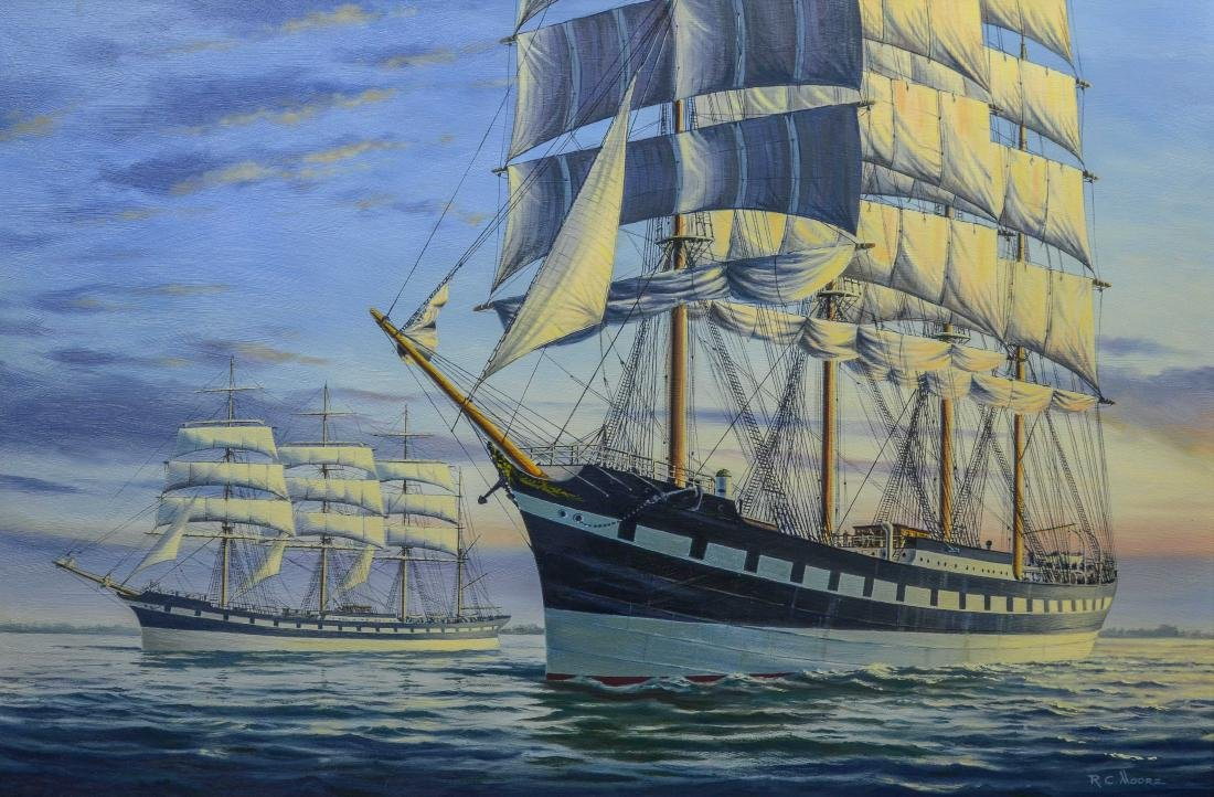 Richard C Moore, The Moshulu and her Sister Ship