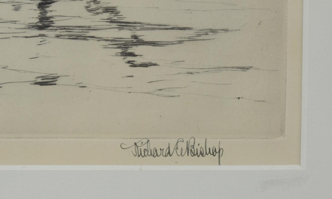 Richard Bishop, 2 etchings of ducks - 6