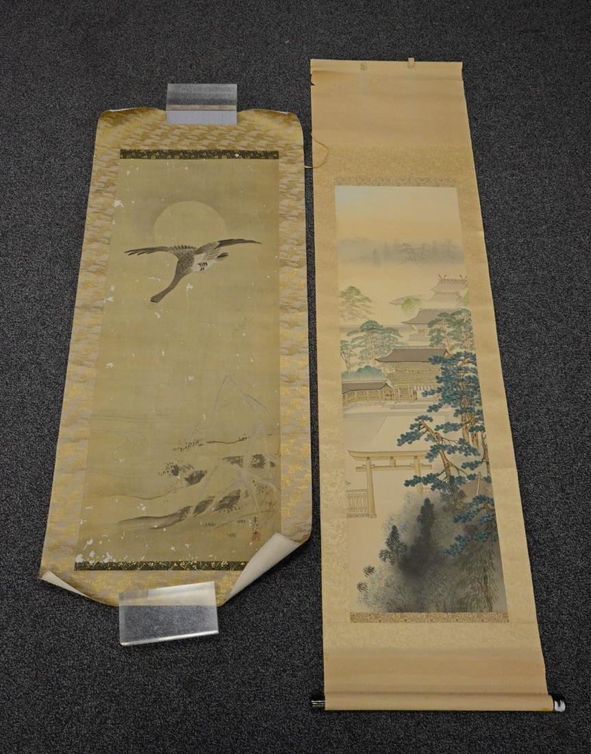 2 Japanese scrolls