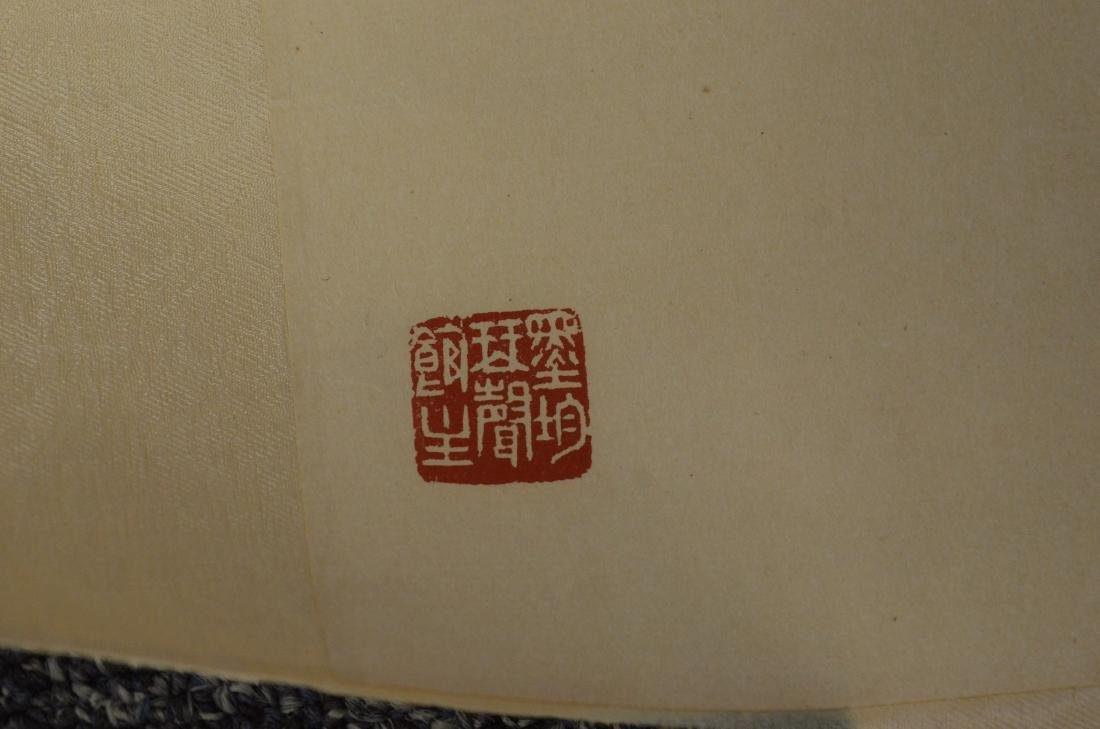 3 Chinese scrolls depicting horses - 4