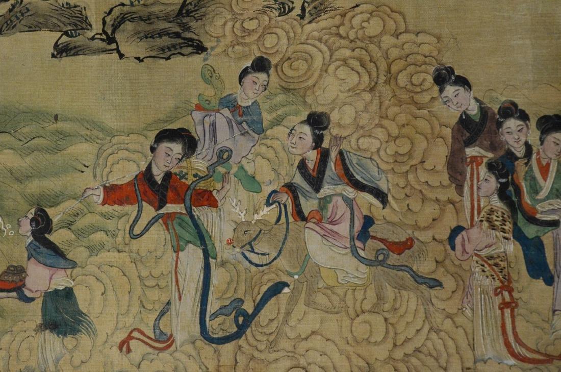6 Chinese scrolls - 10
