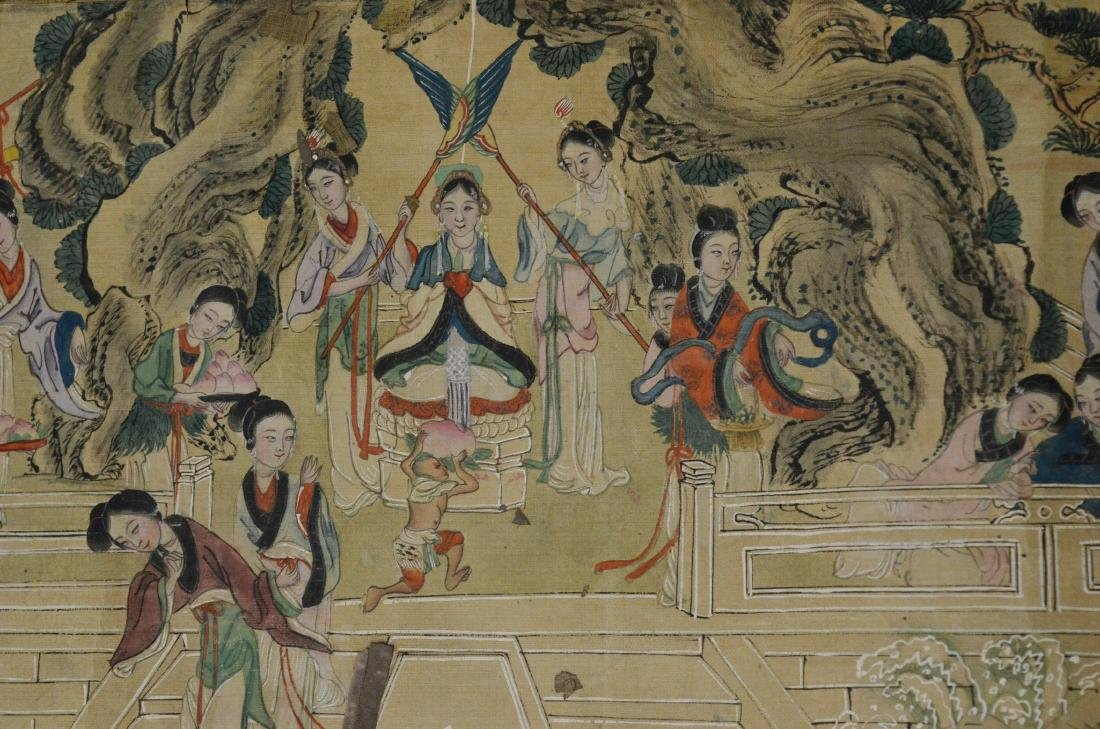6 Chinese scrolls - 11