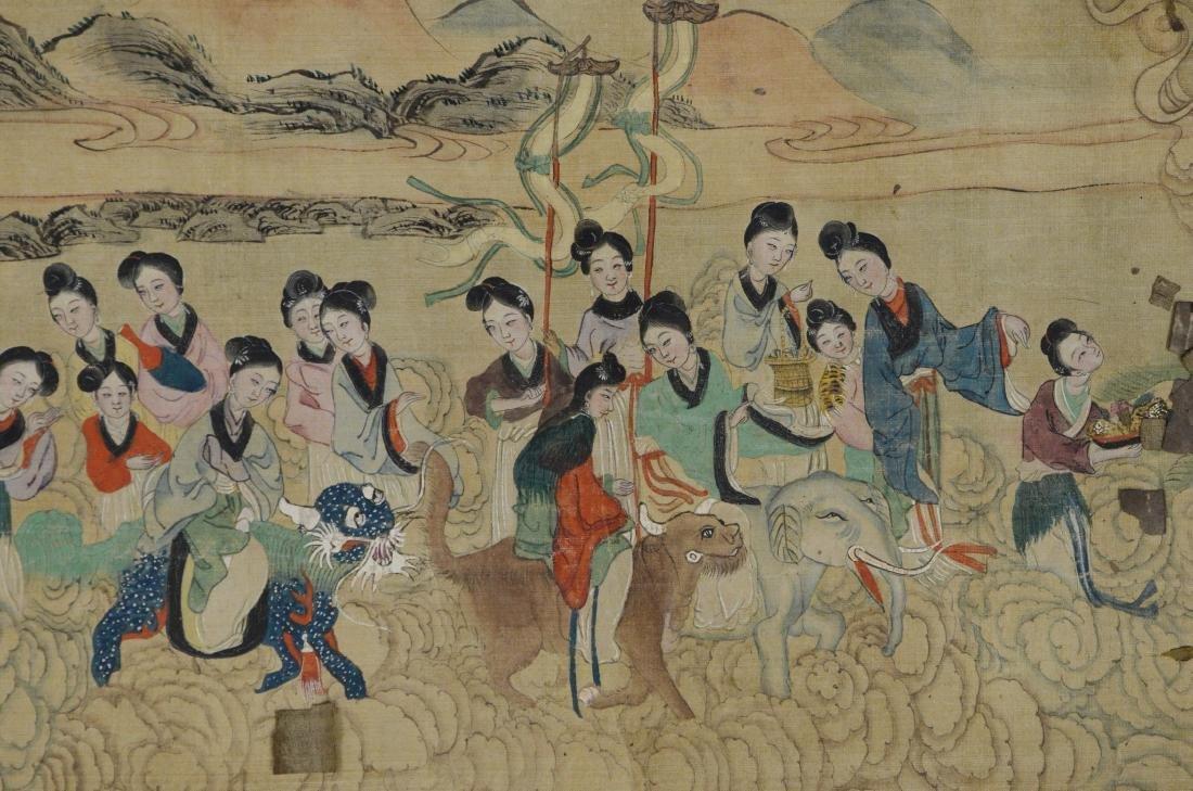 6 Chinese scrolls - 12