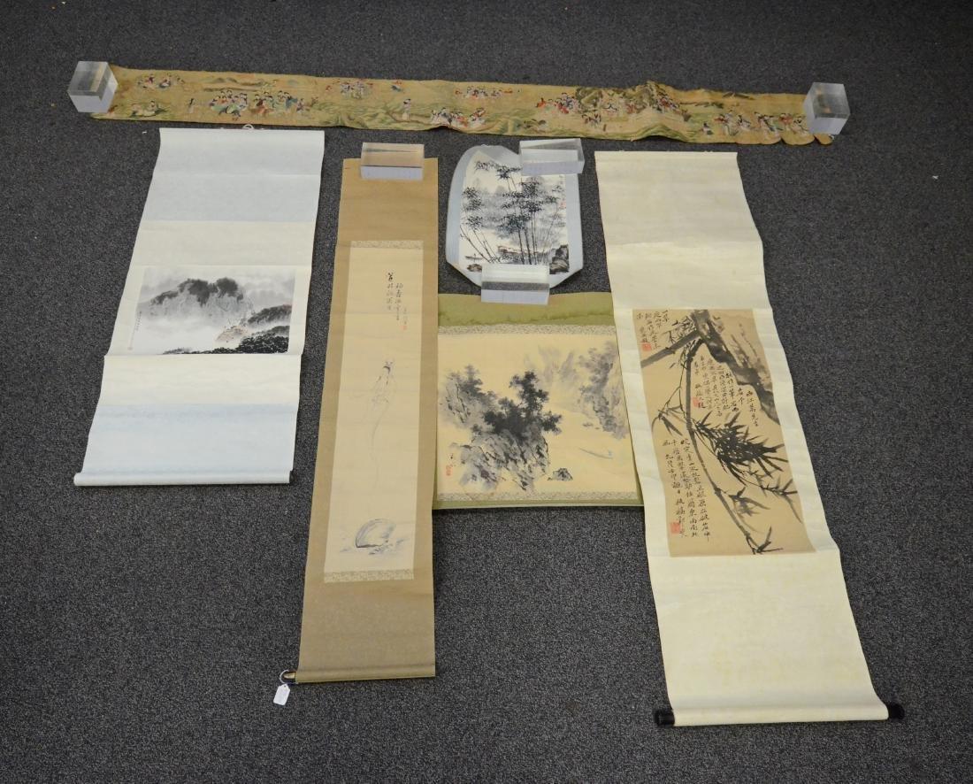 6 Chinese scrolls