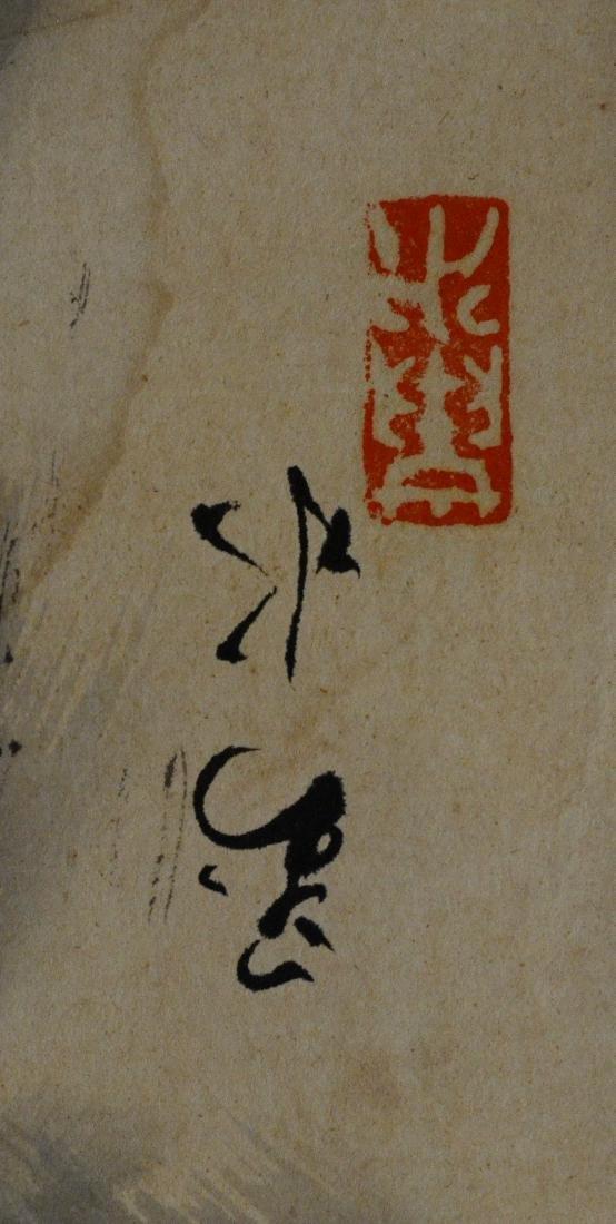 6 Chinese scrolls - 5