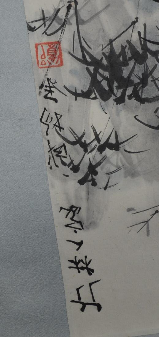 6 Chinese scrolls - 9