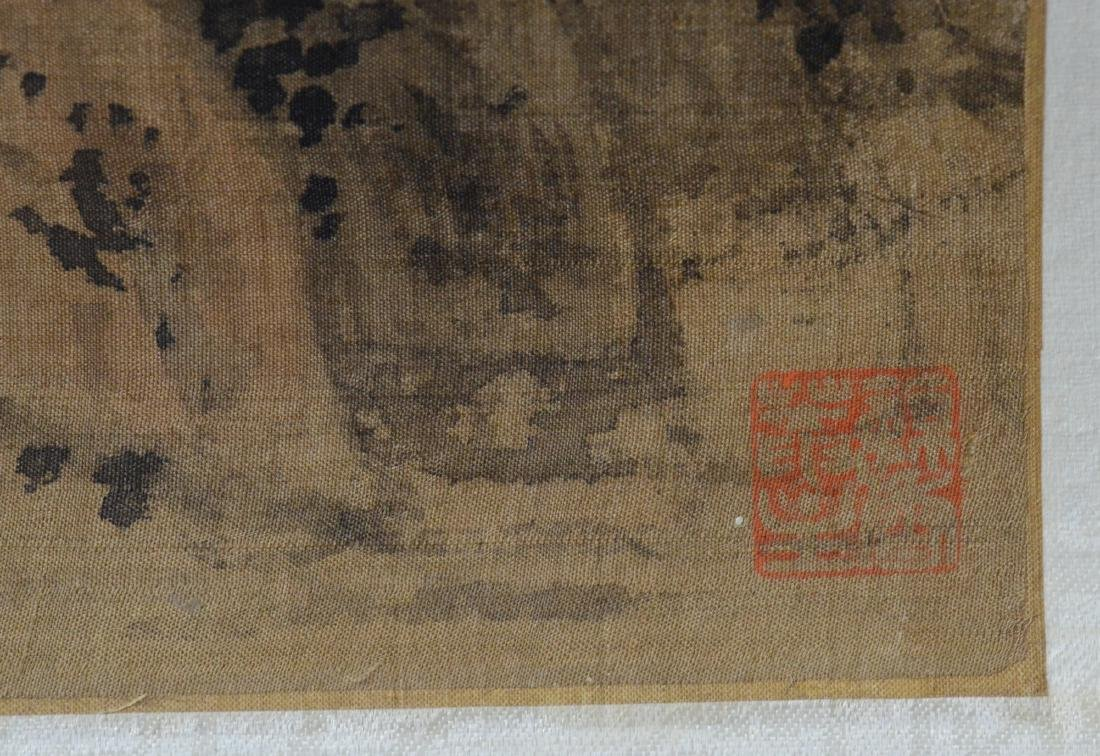 Chinese landscape scroll - 6