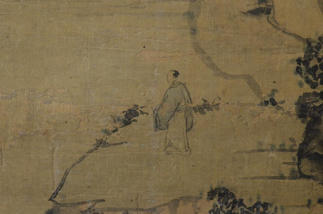 Chinese landscape scroll - 7