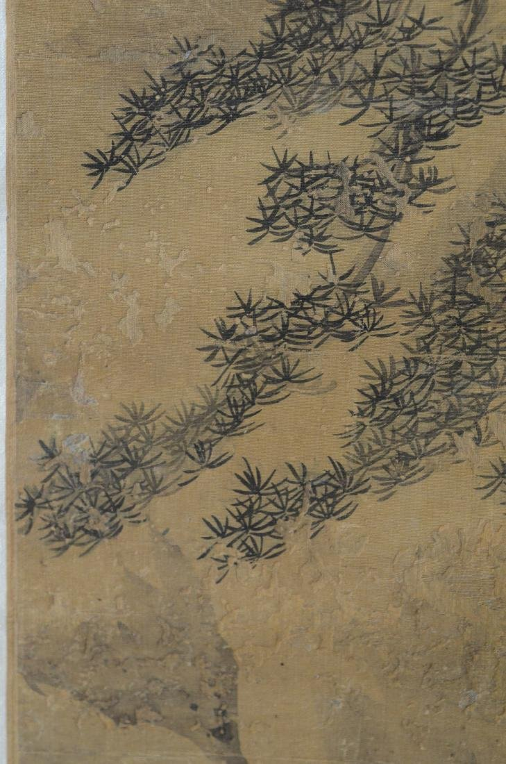 Chinese landscape scroll - 8
