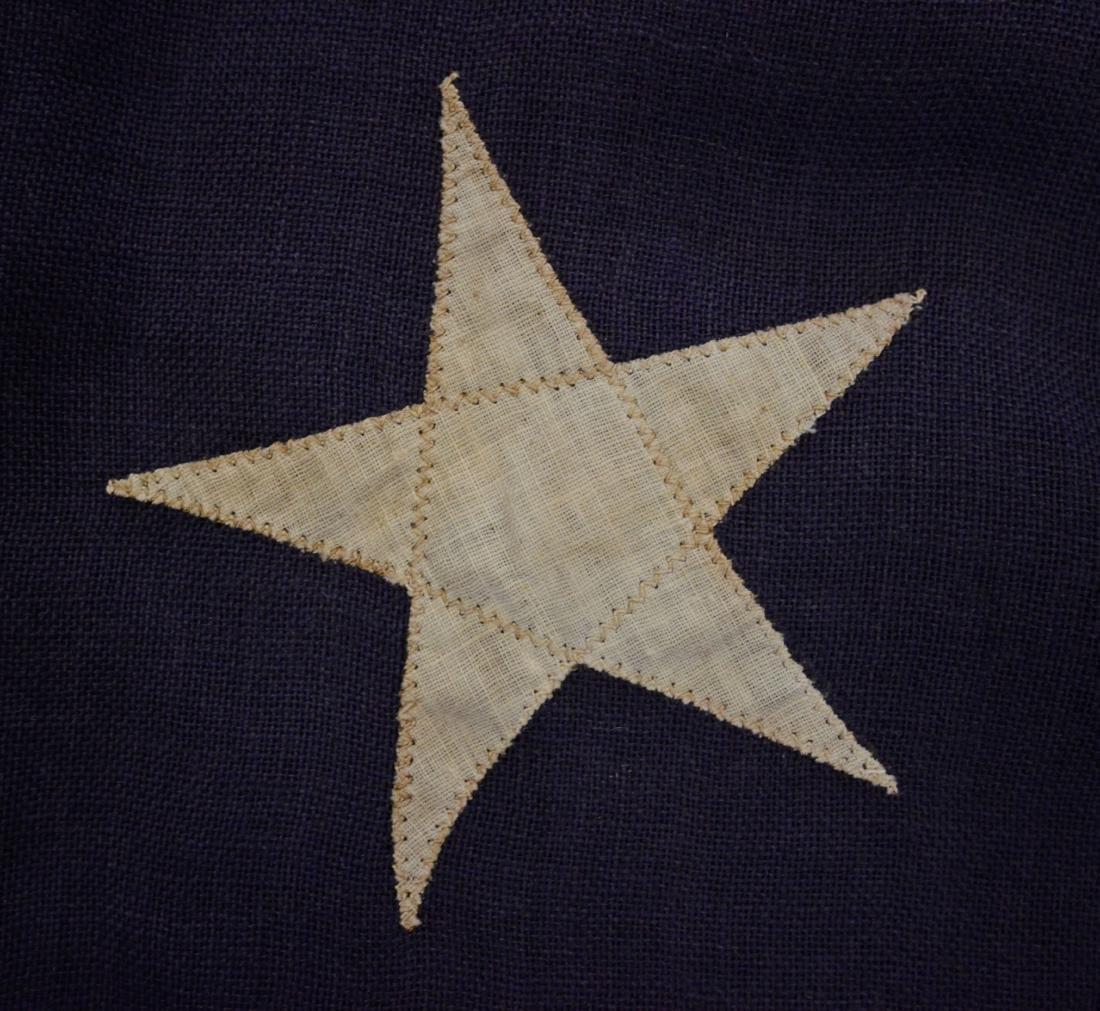 Handmade 45 star flag, later flag banner with 13 stars - 2