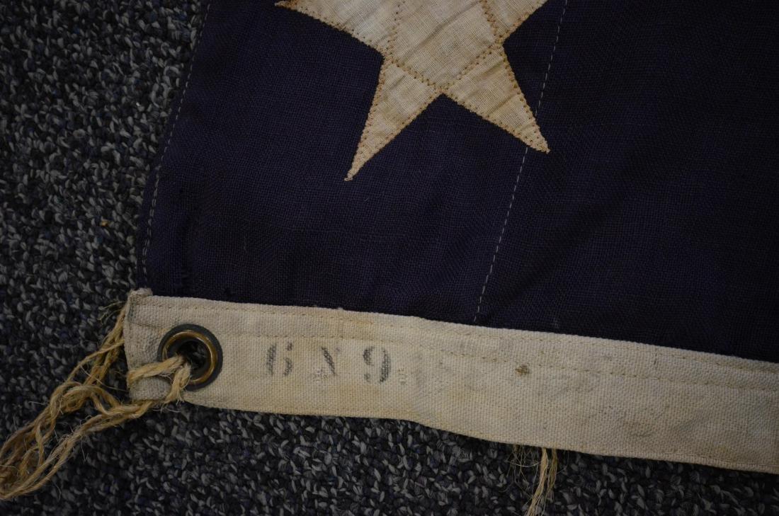 Handmade 45 star flag, later flag banner with 13 stars - 3