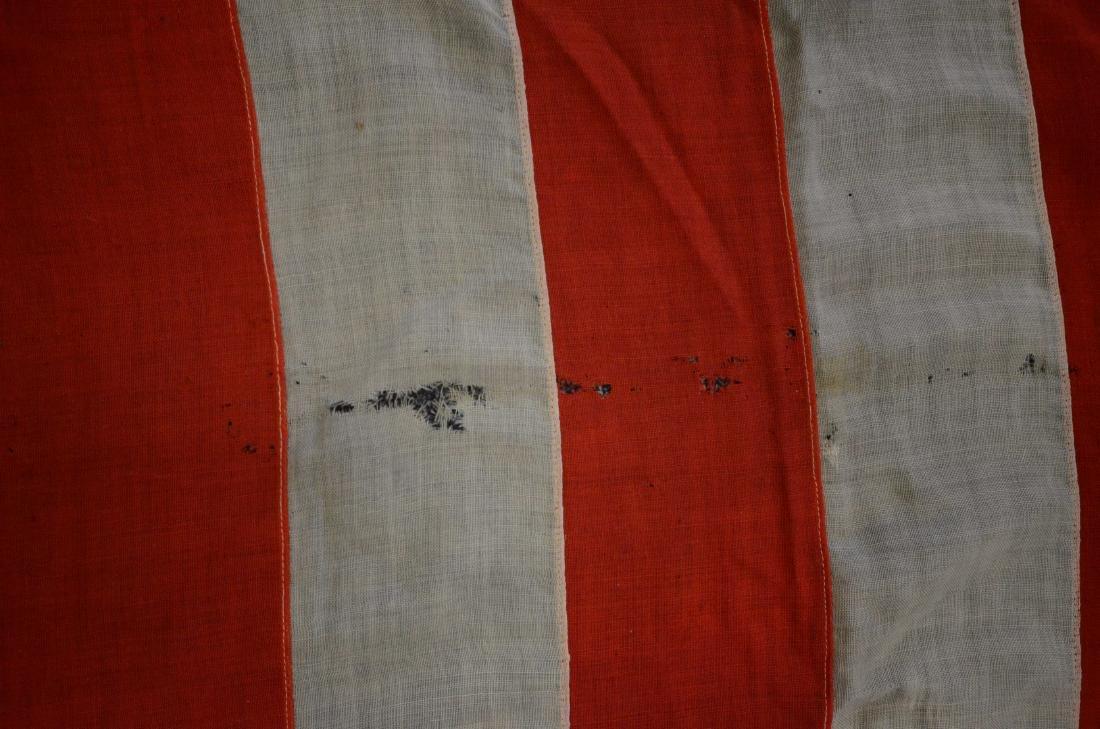 Handmade 45 star flag, later flag banner with 13 stars - 5
