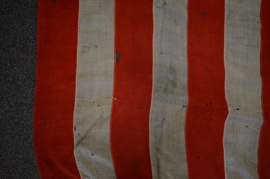 Handmade 45 star flag, later flag banner with 13 stars - 6