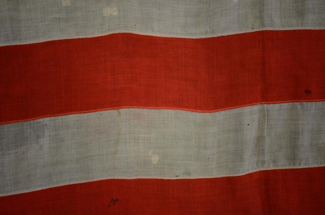 Handmade 45 star flag, later flag banner with 13 stars - 7