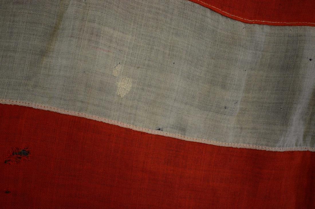 Handmade 45 star flag, later flag banner with 13 stars - 8