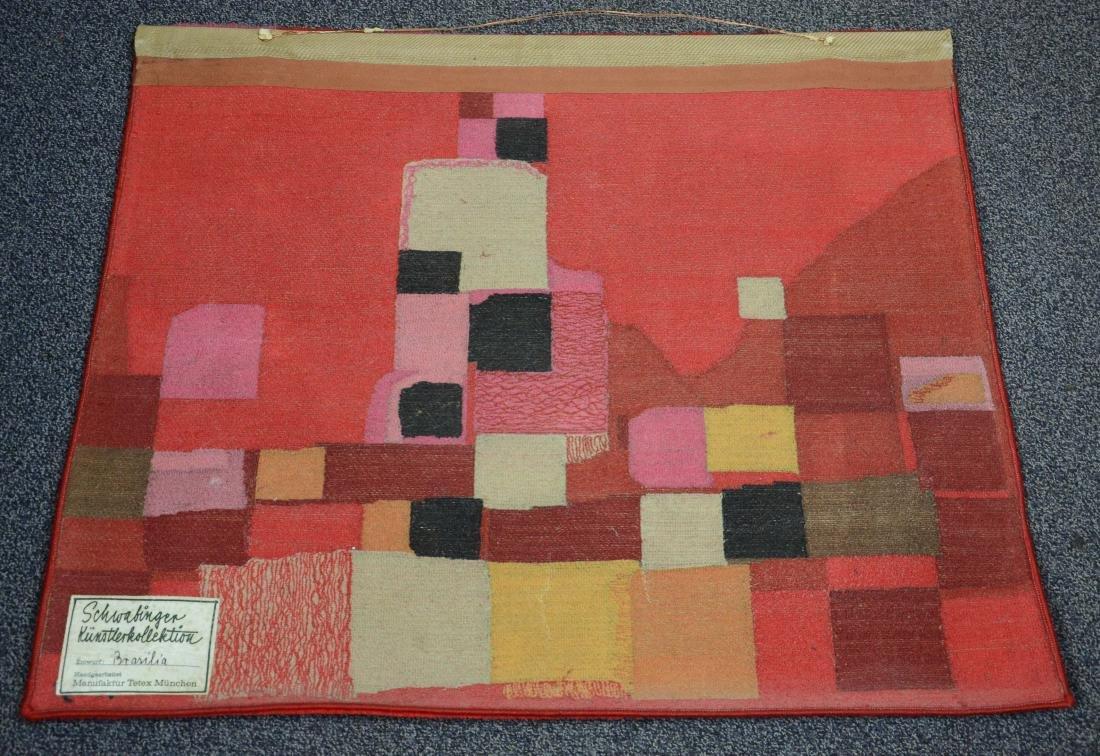 Schwabinger Kunstler Kollection abstract tapestry - 3