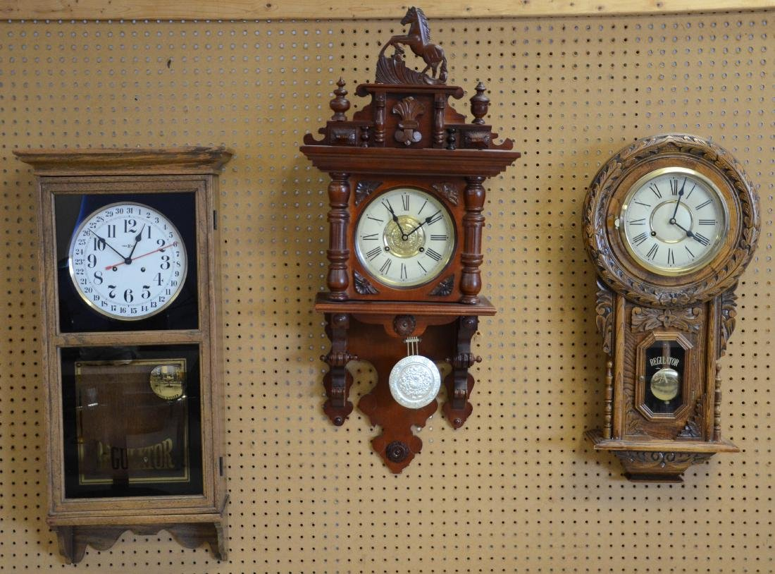 3 Wall clocks