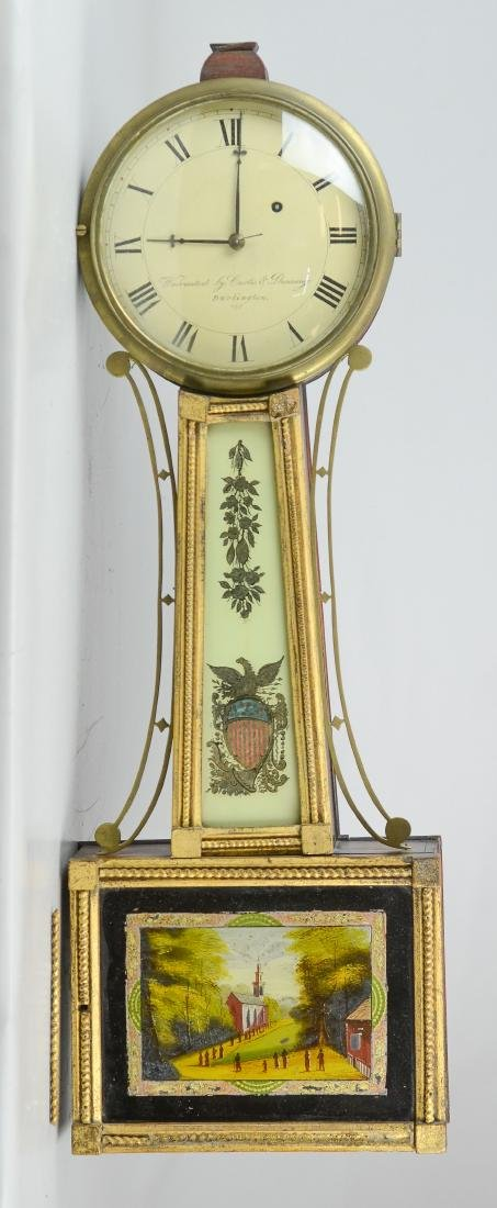 Curtis & Dunning banjo clock