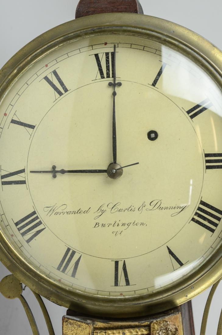 Curtis & Dunning banjo clock - 2
