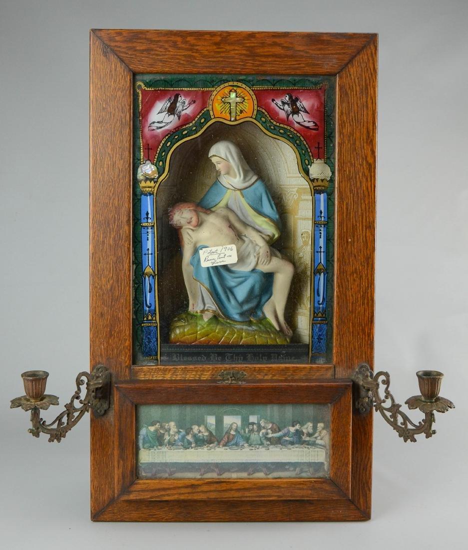 Holy Name Altar and Sick Call Catholic home altar