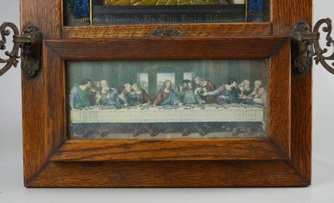 Holy Name Altar and Sick Call Catholic home altar - 2
