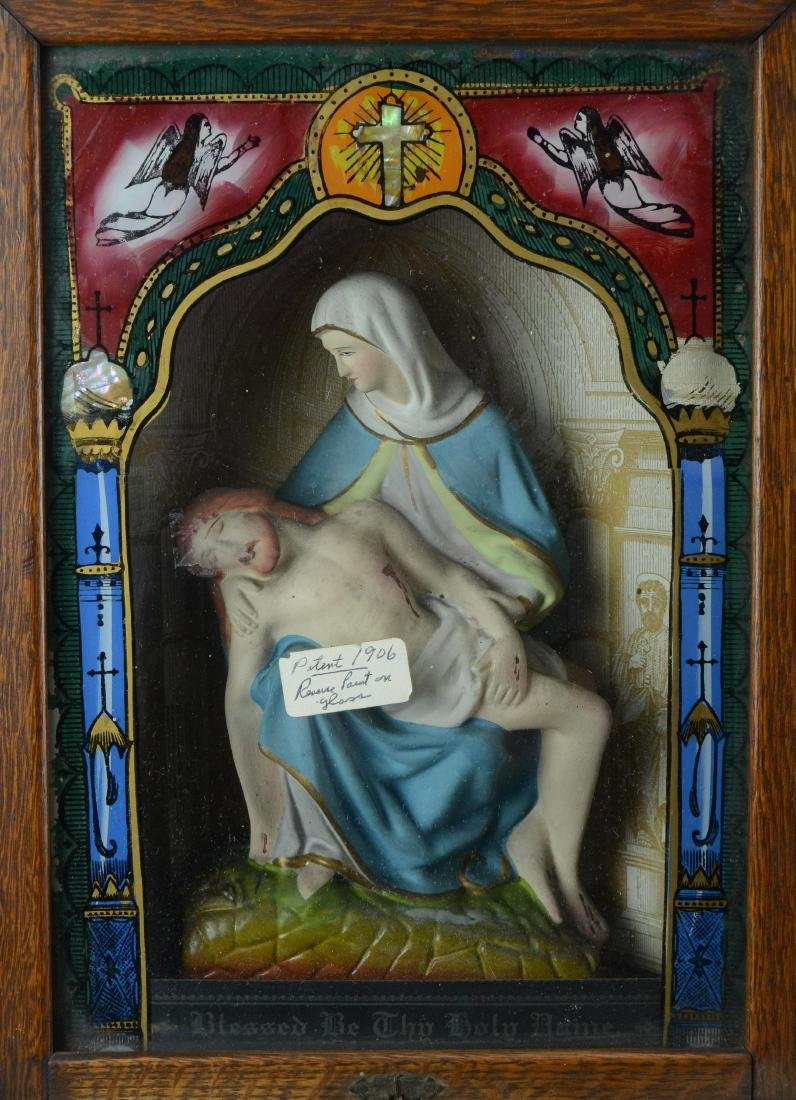 Holy Name Altar and Sick Call Catholic home altar - 4