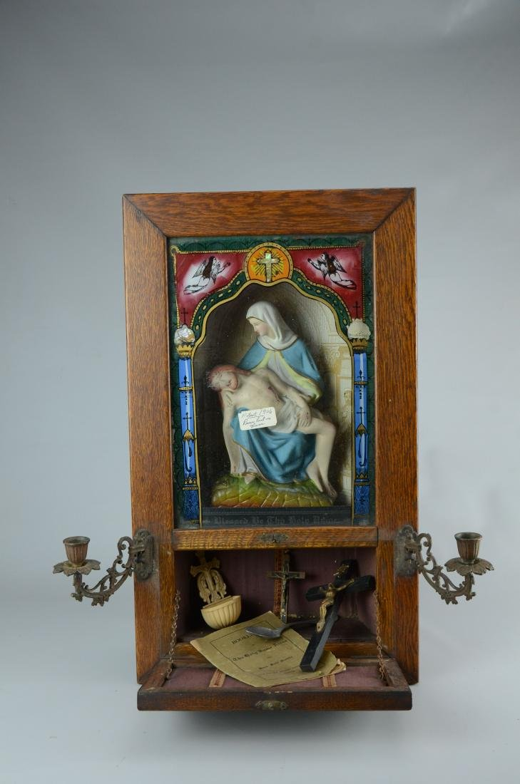 Holy Name Altar and Sick Call Catholic home altar - 6