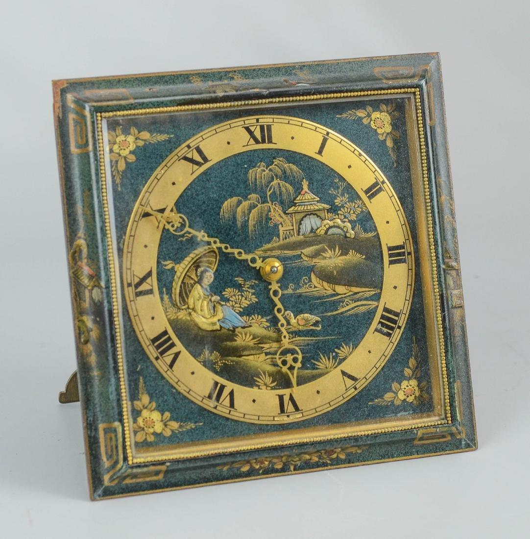 FW Elliot Ltd, strut clock, 8-day, time only - 2