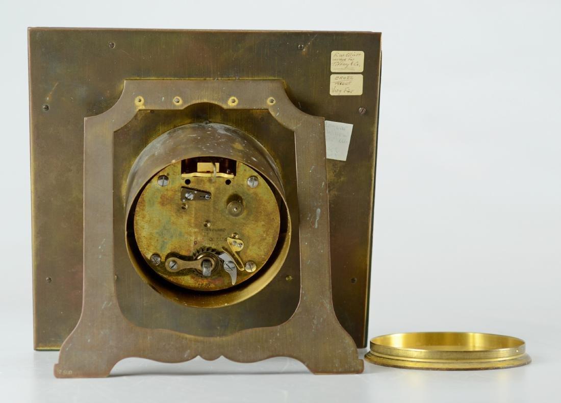 FW Elliot Ltd, strut clock, 8-day, time only - 4