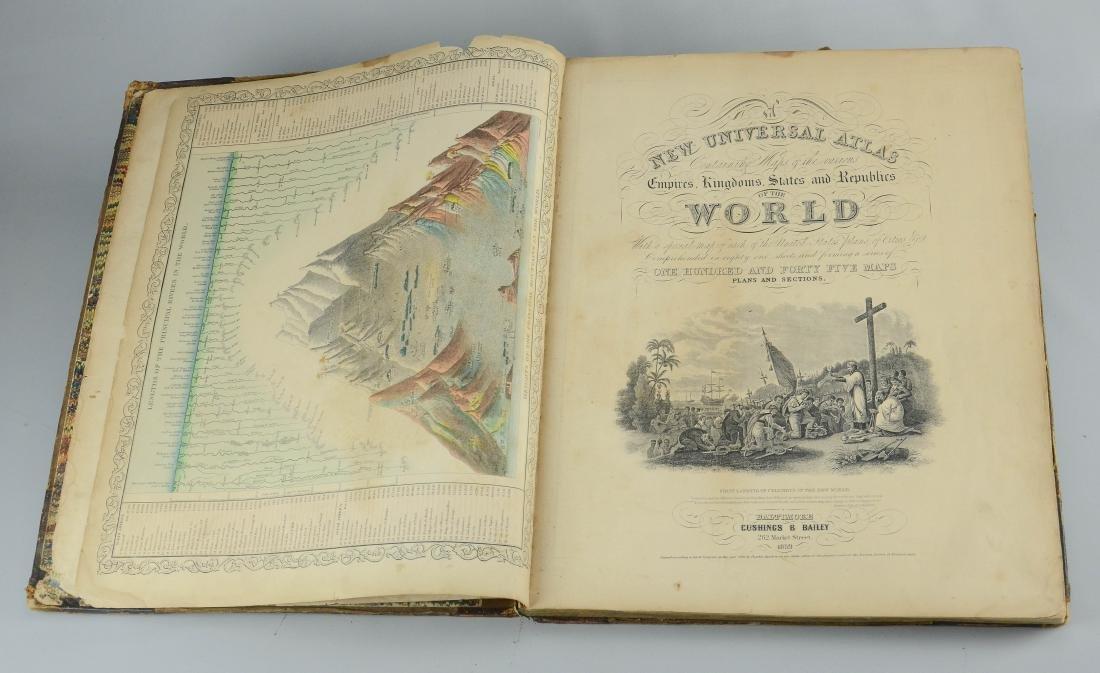 "Mitchel, Samuel Augustus ""A New Universal Atlas"" - 6"