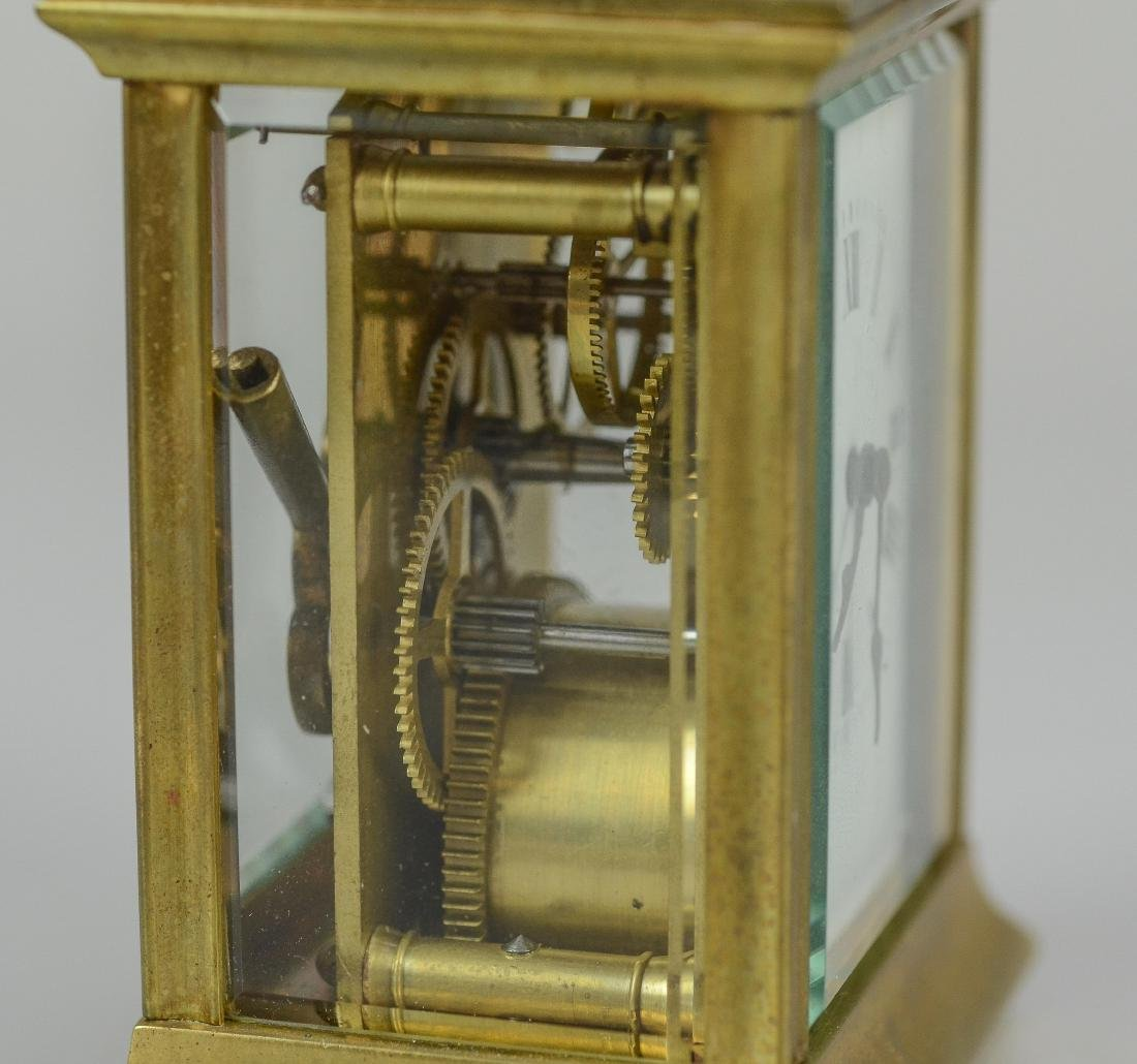 French carriage clock made for JE Caldwell - 2