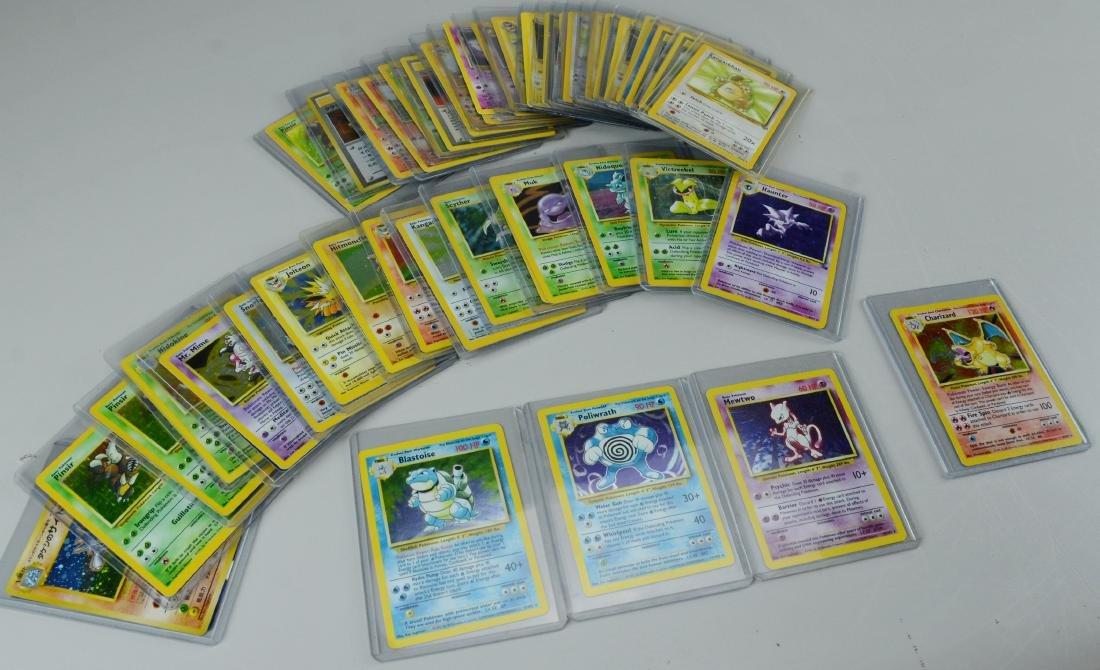 50+ Pokemon gaming cards, varied 1995-1998
