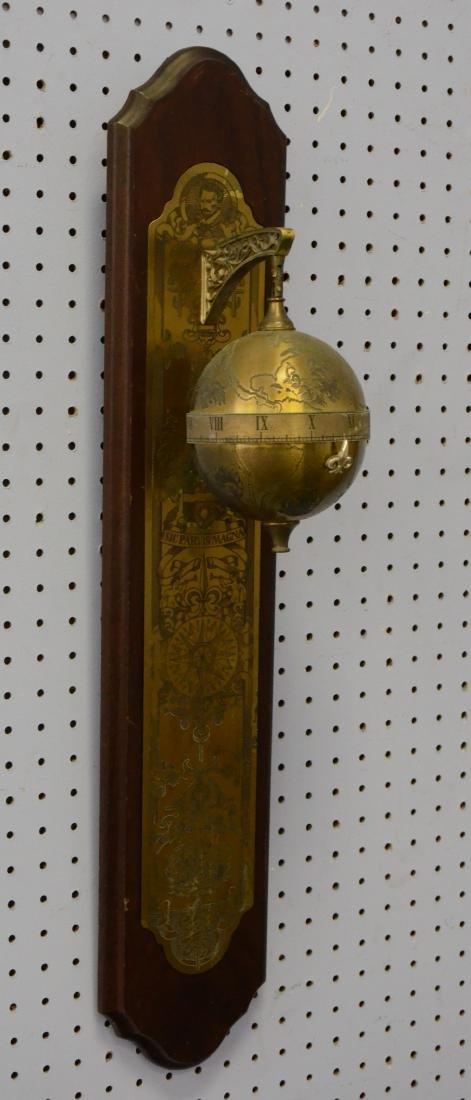 Franklin Mint Sir Francis Drake Falling Ball Clock