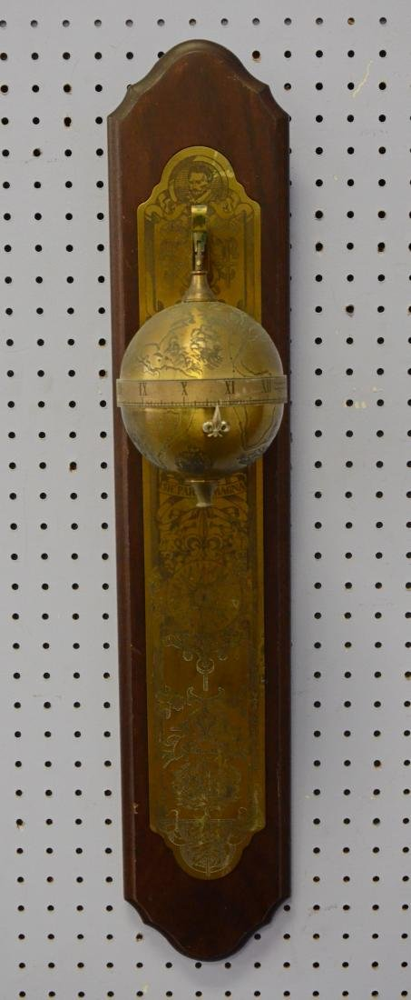 Franklin Mint Sir Francis Drake Falling Ball Clock - 2