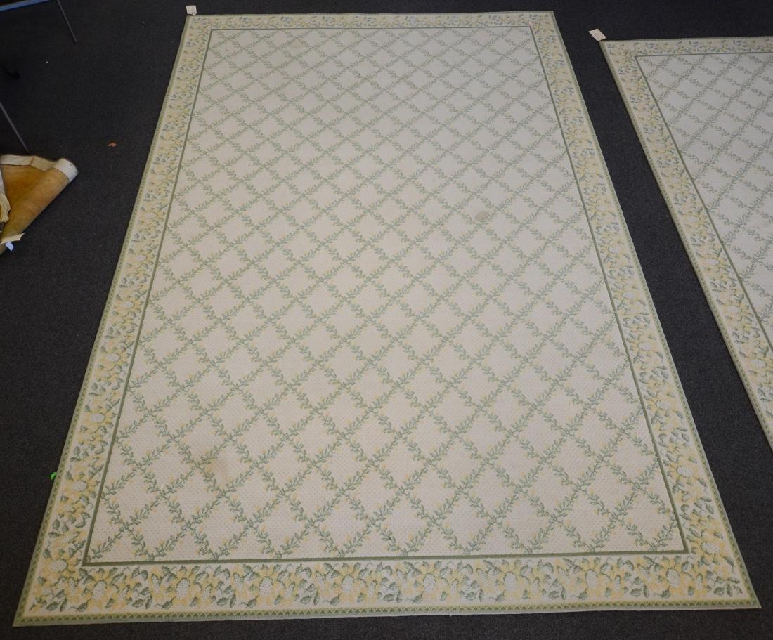 Custom Bordered Fine Broadloom Area Rug