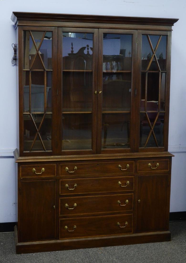 Inlaid mahogany Henkel Harris Virginia Galleries