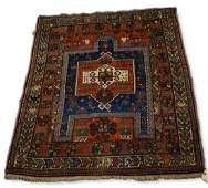 Caucasian Fachralo Kazak prayer rug